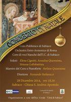 Leggi tutto: Concerto di Natale 2014