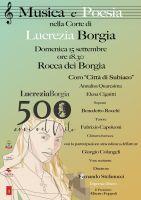 Leggi tutto: Musica e poesia nella corte di Lucrezia Borgia