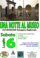 Leggi tutto: Una Notte al Museo - Rassegna Regionale