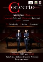 Leggi tutto: Archýtas Duo - Concerto di violino e pianoforte