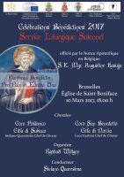 Leggi tutto: Bruxelles - Celebrazioni Benedettine 2017